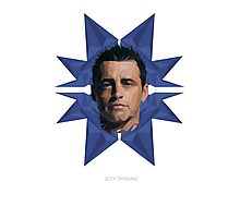 Vector Celebrities - Matt LeBlanc Photographic Print