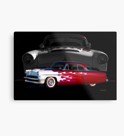 1954 Mercury Monterey Custom Metal Print
