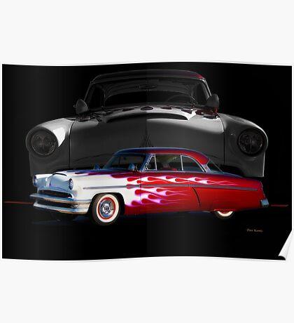 1954 Mercury Monterey Custom Poster