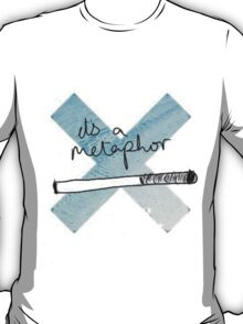 IT'S A METAPHOR TFIOS THE TAULT IN OUR STARS TUMBLR STICKER SHIRT BAG CASE T-Shirt