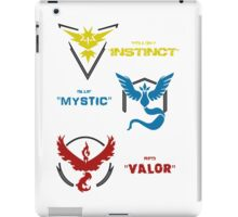 Pokemon GO Teams iPad Case/Skin