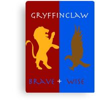 Gryffinclaw- brave & wise Canvas Print