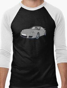 Porsche 911 Always on Top Gears cool wall Men's Baseball ¾ T-Shirt