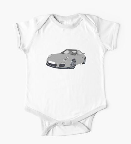 Porsche 911 Always on Top Gears cool wall One Piece - Short Sleeve