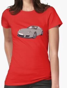 Porsche 911 Always on Top Gears cool wall Womens Fitted T-Shirt