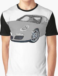 Porsche 911 Always on Top Gears cool wall Graphic T-Shirt
