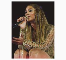 Beyoncé Knwoles with Braids One Piece - Short Sleeve