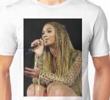 Beyoncé Knwoles with Braids Unisex T-Shirt