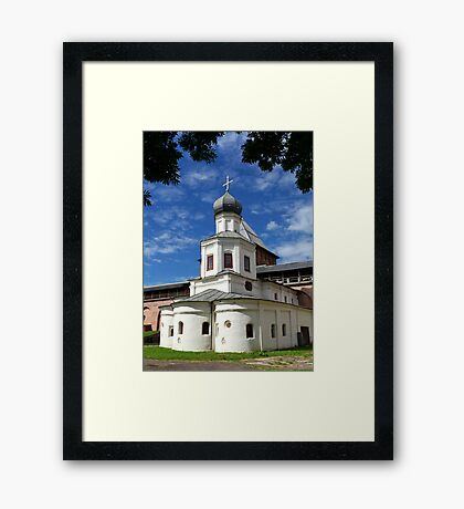 Church of in the fortress Framed Print