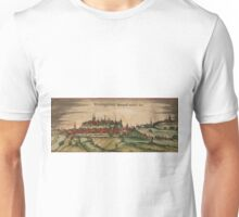 Freising Vintage map.Geography Germany ,city view,building,political,Lithography,historical fashion,geo design,Cartography,Country,Science,history,urban Unisex T-Shirt