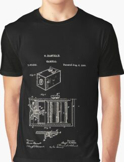 George Eastman Camera Patent Graphic T-Shirt