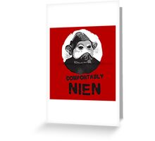 Comfortably Nien Greeting Card
