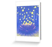 Flower of Healing Greeting Card
