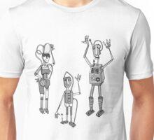Robot Family Unisex T-Shirt