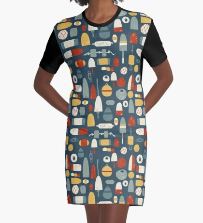 Oh Buoy! Graphic T-Shirt Dress