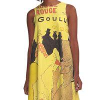 Toulouse Lautrec - La Goulue A-Line Dress