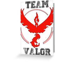 Team Valor - Pokemon GO! Greeting Card