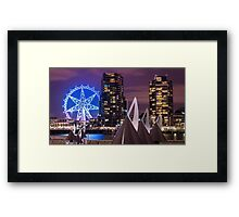 The Melbourne Star Framed Print