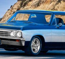 1967 Chevrolet Chevelle Coupe Sticker
