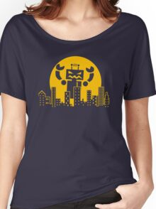 Robot Attack Women's Relaxed Fit T-Shirt