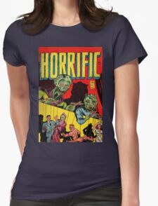 Horrific Tales cover 1 Womens Fitted T-Shirt