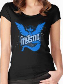 Team Mystic Spirit! Women's Fitted Scoop T-Shirt