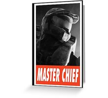 (GEEK) Master Chief Greeting Card
