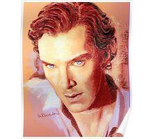 Benedict Cumberbatch Artwork Design 1 Poster