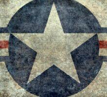 Vintage USAF Roundel symbol Sticker