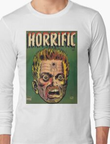 Horrific Tales dead soldier cover Long Sleeve T-Shirt