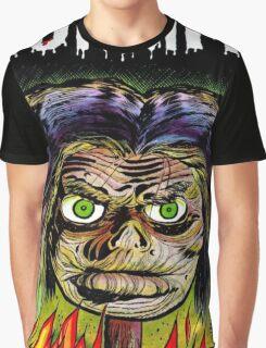 Horrific Shrunken head comic cover Graphic T-Shirt