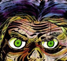 Horrific Shrunken head comic cover Sticker