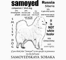 Samoyed. FAQ. Grown Up Unisex T-Shirt