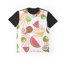 Exotic fruits pattern Graphic T-Shirt