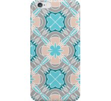 Decorative print with light geometric ornament iPhone Case/Skin