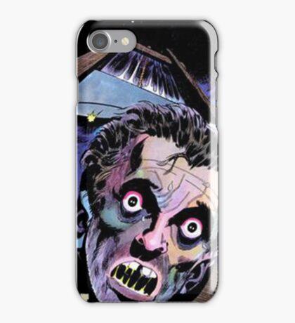 Horrific Tales comic cover iPhone Case/Skin