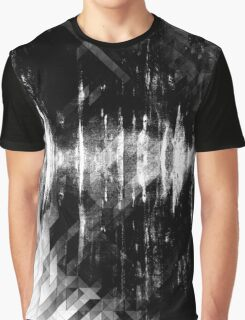 abstract  wave bw Graphic T-Shirt
