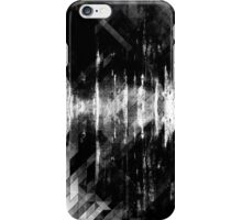 abstract  wave bw iPhone Case/Skin