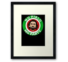 No Pirlo, No Party (Italy) Framed Print