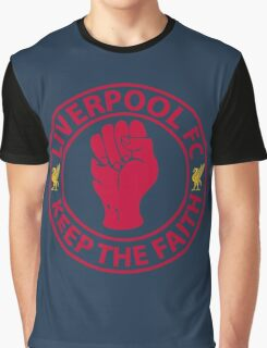 Liverpool FC - Keep The Faith Graphic T-Shirt