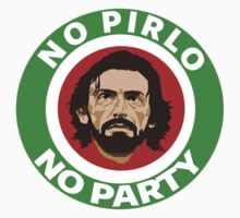 No Pirlo, No Party (Italy) by LandoDesign