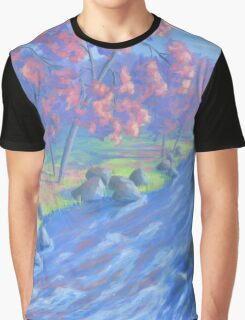 Autumn River Graphic T-Shirt