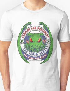 THE STARS ARE RIGHT - ELDER PARTY Cthulhu 2016 T-Shirt Unisex T-Shirt