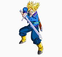 Future Trunks as Super Saiyan with Sword - Dragon Ball Z Unisex T-Shirt