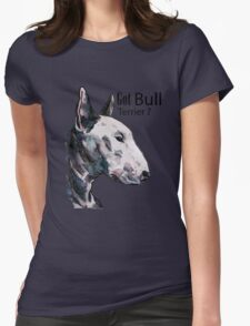 Bull Terrier Womens Fitted T-Shirt