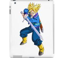 Future Trunks as Super Saiyan with Sword - Dragon Ball Z iPad Case/Skin