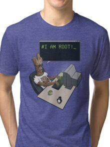 I am Root Tri-blend T-Shirt