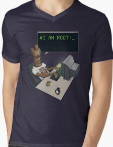 I am Root Mens V-Neck T-Shirt