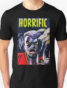 Horrific Tales Werewolf monster comic cover Unisex T-Shirt
