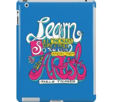 Learn the rules like a pro... iPad Case/Skin